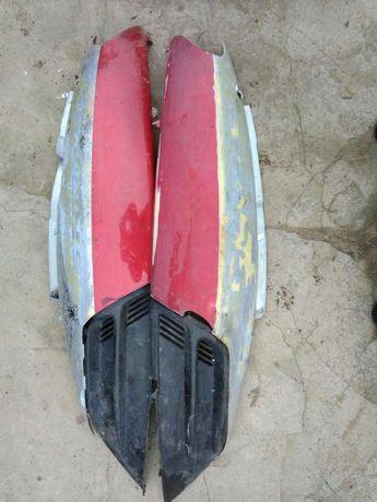 Пластик боковой задний левый и правый на скутер STORM 50