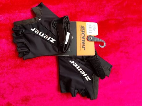 Rękawiczki Ziener czarne rower 7,5 Germany Union Scott Wheeler,cube