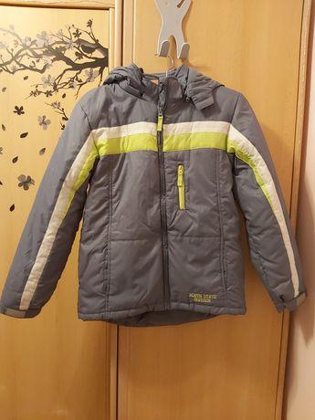 Nowa kurtka chłopięca z bluzą polarową