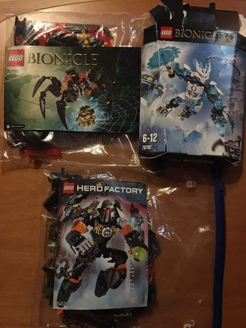 Klocki LEGO bonicle hero factory crima