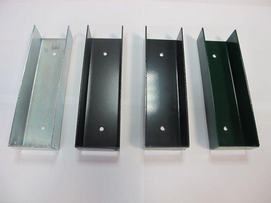 Ceownik łącznik oc+ral metalowy podmurówka deska słupki panele Euromet Olkusz - image 1