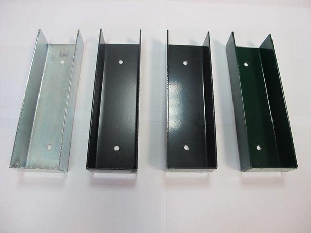 Ceownik łącznik oc+ral metalowy podmurówka deska słupki panele Euromet