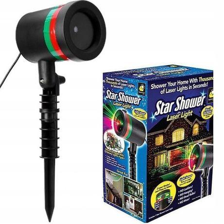 Projektor Laserowy świąteczny STAR SHOWER 2 KOLORY