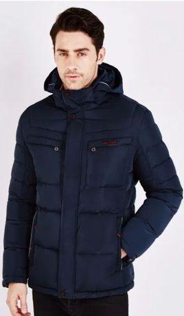 Мужская зимняя куртка пуховик IceBear
