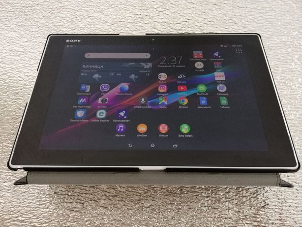 Планшет SONY xperia Z2 tablet SGP521 white LTE/4G 16GB