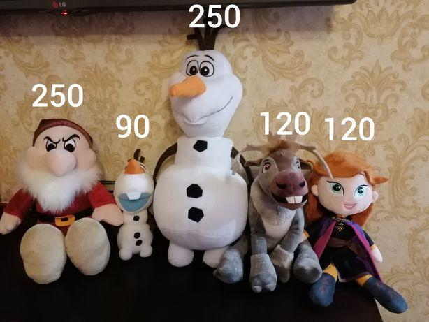 Олаф, Свен, Анна, гном дисней Disney