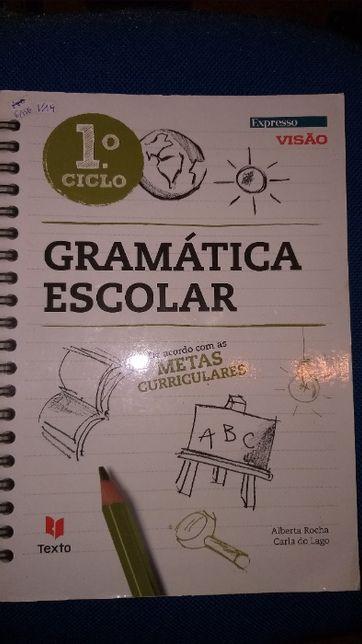 Livro Gramática Escolar do 1º ciclo