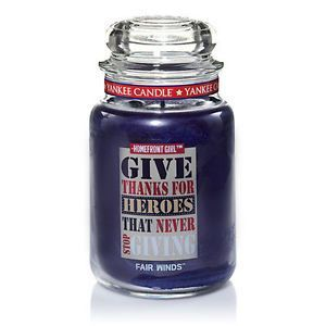 Yankee Candle Give Thanks For Heroes That Never Stop Giving