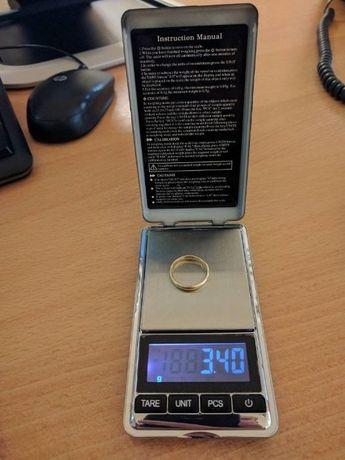 Электронные карманные ювелирные весы DANIU 500g с точностью 0.01