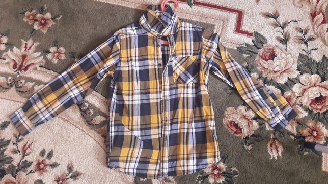 Рубашка на рост 134 140 хлопок