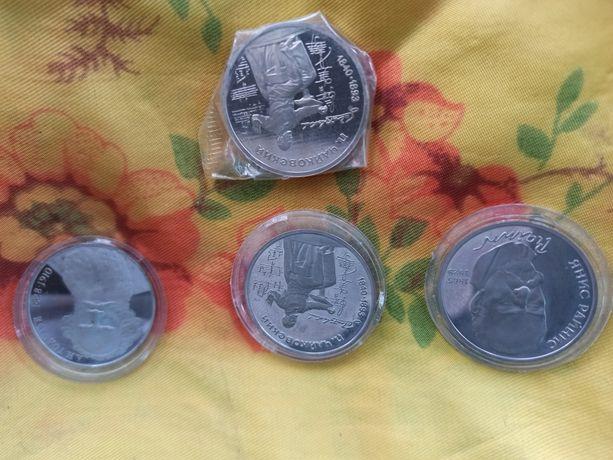 1, 3, 5 рублей Шайба Жуков Терешкова юбилейные СССР