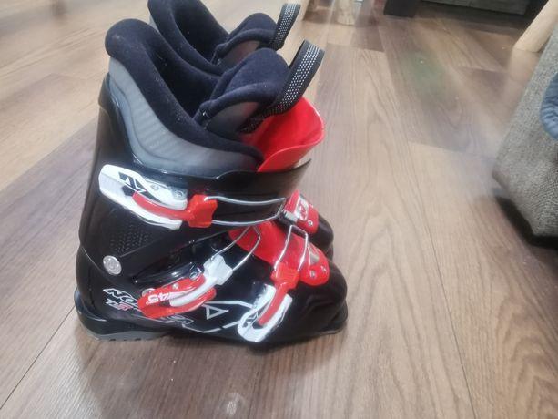 Narty, buty narciarskie junior