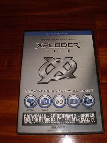 Vários jogos e XPLODER Lite (cheat system) Playstation 2 PS2