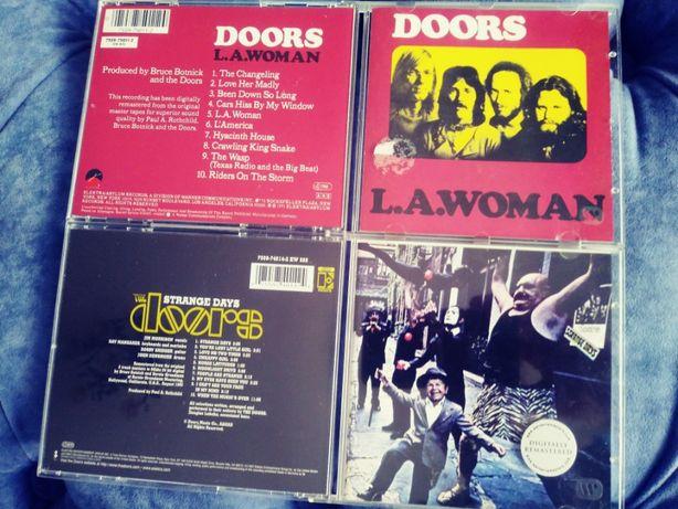 the DOORS - zbiór płyt CD - różne wydania - starsze i remasterowane