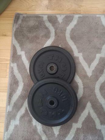 Obciążenie żeliwne 2x10 kg