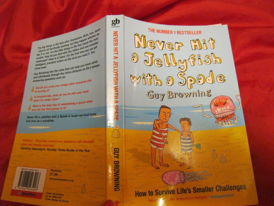 книга английский Never Hit a Jellyfish with a Spade: Guy Browning юмор Днепр - изображение 1