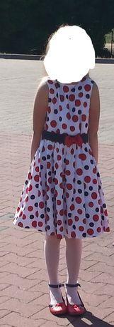 Suknia 134cm Stan bardzo dobry