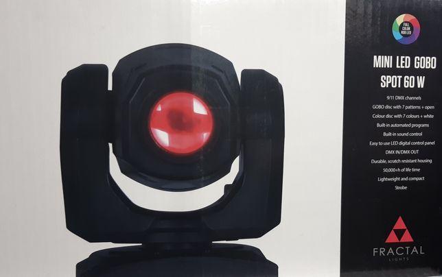 Lampa Fractal led gobo spot 60 W