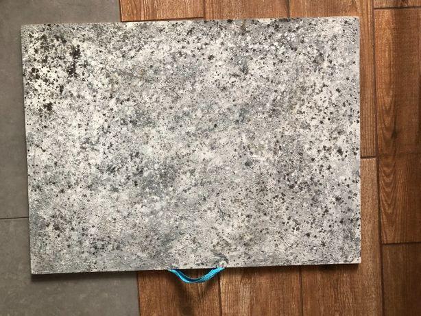 Фотофон двухсторонний, фон - бетон (фото фон 50х70)
