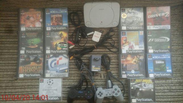 Sony ps one (psx) - zadbana konsola