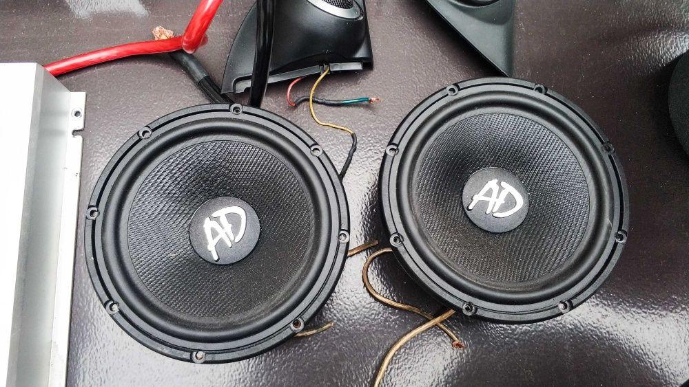 AD Audio W600 + T100 / Włoskie Hiend'owe CarAudio