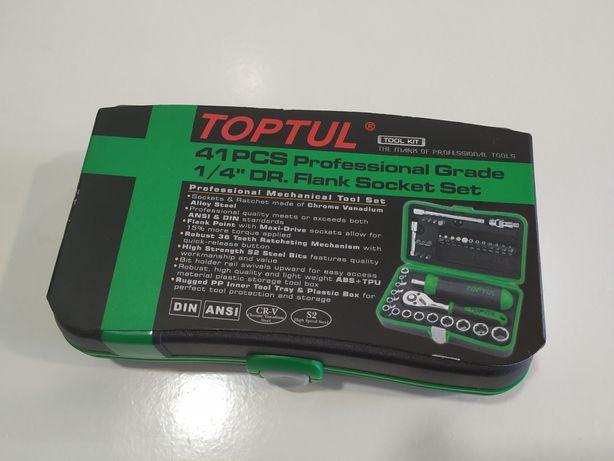 Toptul - Jogo Chaves de caixa profissional (novo)