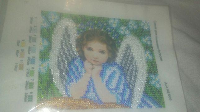 Вишивка Ангелик