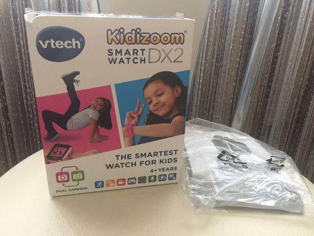Детские смарт-часы SmartWatch Kidizoom DX2 от VTech Английский язык