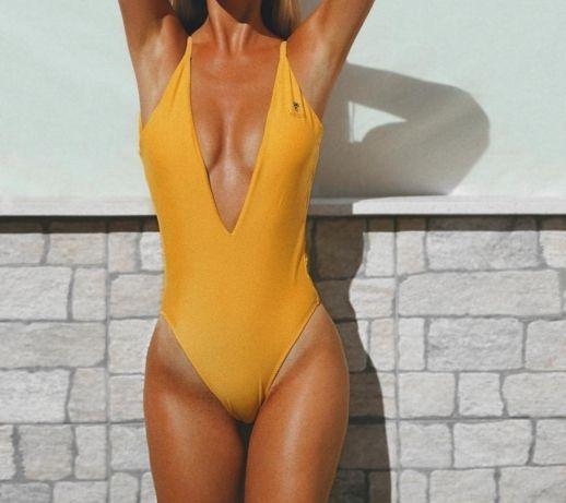 Fato de banho amarelo AVswim