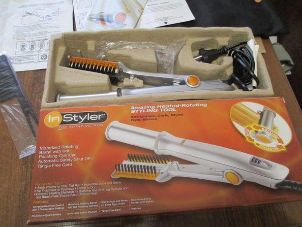 плойка - утюжок для волос In Style the rotating iron