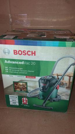 Пылесос строительный Bosch Advanced Vac 20 ОРИГИНАЛ из Германии