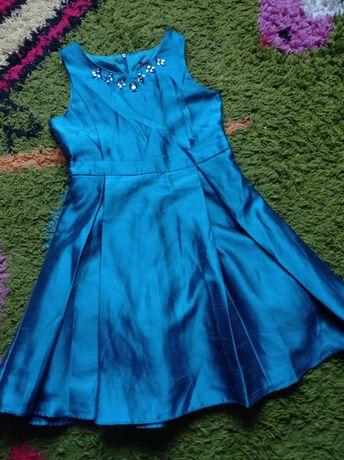 Супер скидка! Нарядное праздничное платье 134-140