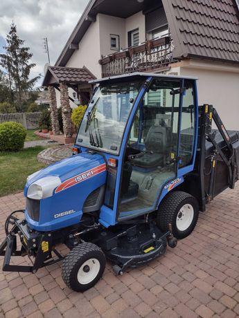 traktorek kosiarka iseki sxg 323 22hp górny wysyp tuz kabina kubota gr