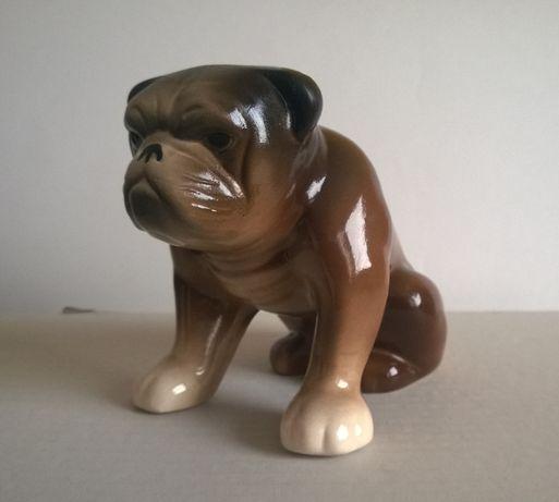 Figurka porcelana Buldog angielski