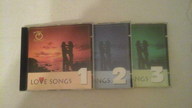 3 płyty  CD Love Songs