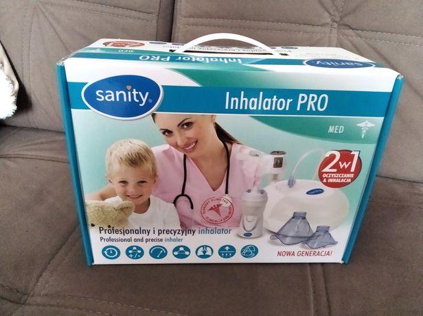 Sanity Pro 2w1, inhalator tłokowy z irygatorem Nosalek Jet,