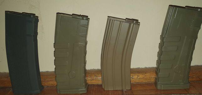 4 magazynki do karabinów typu M4 ASG