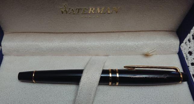 Pióro WATERMAN - UNIKAT! z podpisem Prezydenta Bronisława Komorowskieg