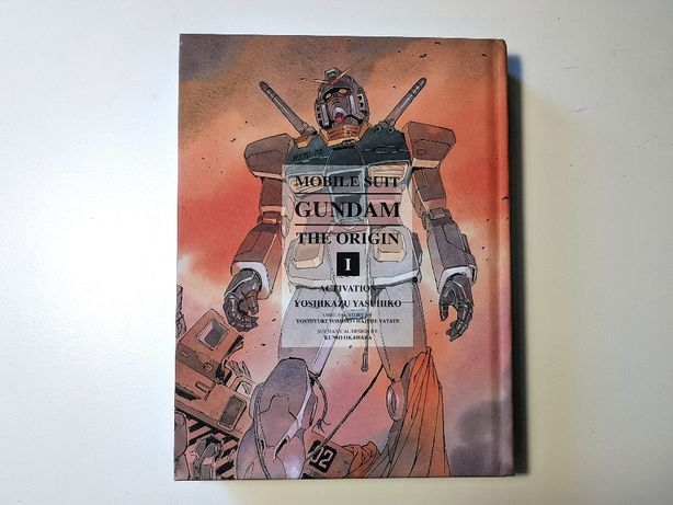Gundam The Origin manga tom 1