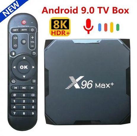 3300 р! Смарт приставка ТВ X96 MAX PLUS 2 4/32 на прошивке от UGOOS!