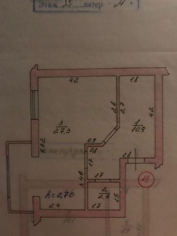 Продам 2- х комнатную,Новострой, ул. Поперечная