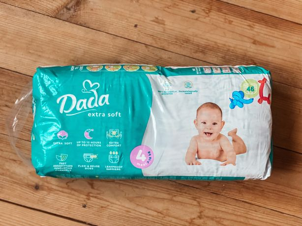 Подгузники, памперсы Dada Extra soft, 4 Maxi