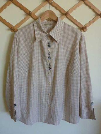 Blusa Vintage bordada.