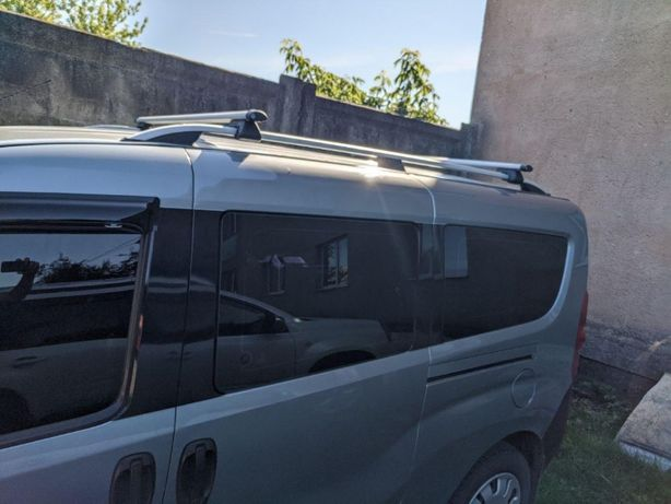 Багажник перемычки поперечены на рейлинги Fiat Doblo Фиат Добло Добло