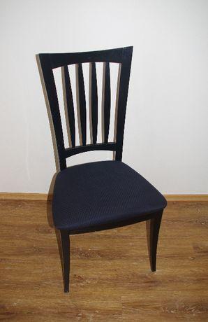 Krzesła czarne, włoskie Pietro Constantini 6 szt.
