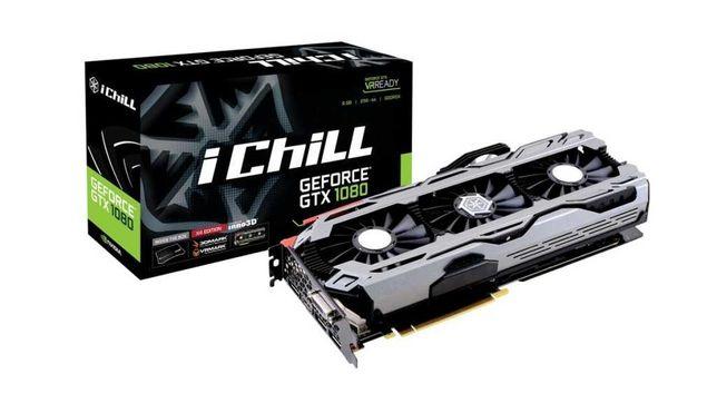 Видеокарта INNO3D Geforce GTX 1080 X4 iChill 8Gb