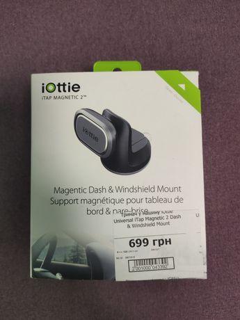Iottie magnetic dash windshield 2 держатель телефона на стекло торпедо