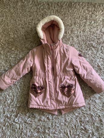 Куртка, парка Тополино 4-5 лет