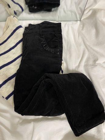 Тёплые вельветовые брюки yuke