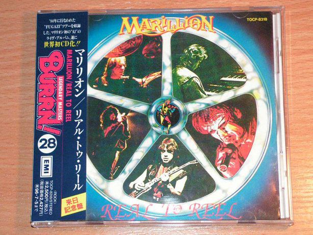 Marillion - Real To Reel TOCP-8318 Japan OBI: 28